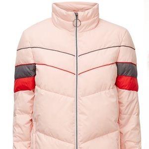 Sweaty Betty track puffer jacket